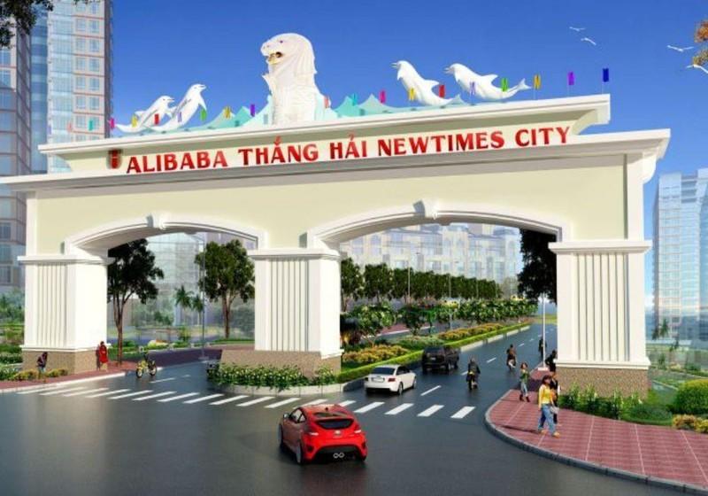 Cung cấp thông tin Alibaba Newtimes City Thắng Hải cho CQĐT - ảnh 1