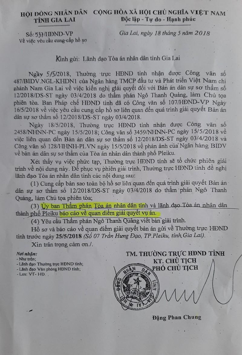 Phó chủ tịch HĐND tỉnh can thiệp cả hoạt động kiểm sát - ảnh 2
