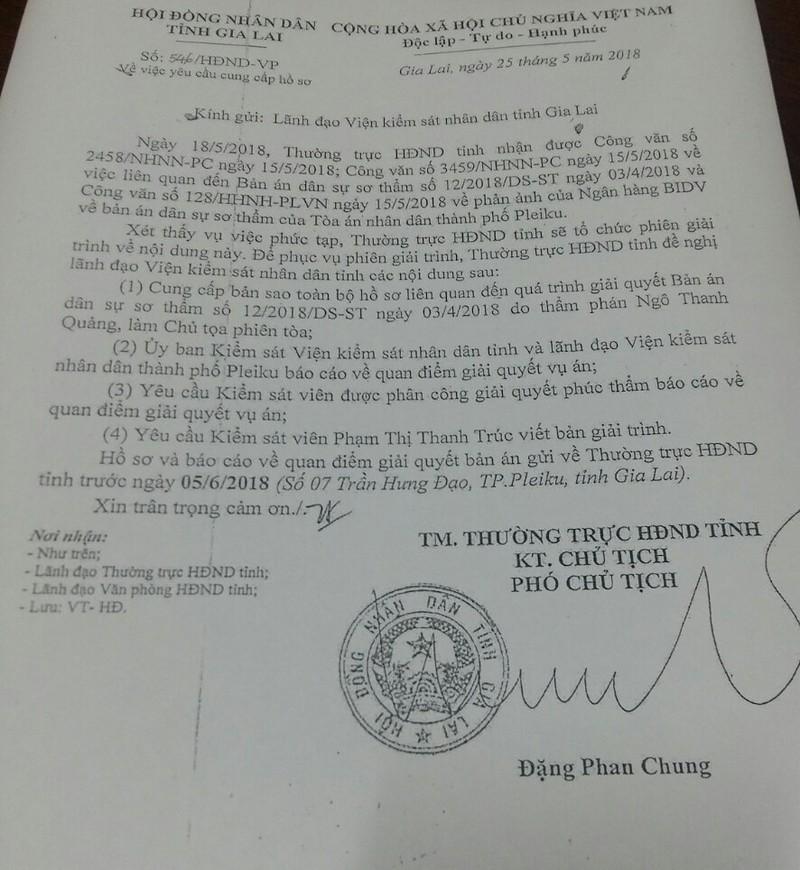 Phó chủ tịch HĐND tỉnh can thiệp cả hoạt động kiểm sát - ảnh 3