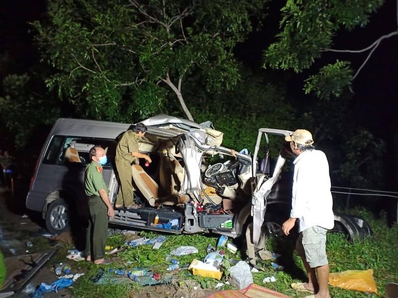Bình Thuận: 8 người chết sau tai nạn giữa xe khách và ô tô tải - ảnh 5