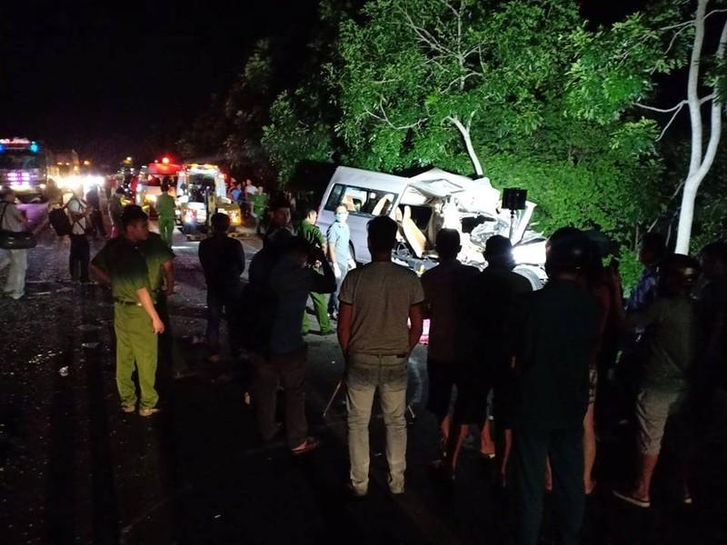 Bình Thuận: 8 người chết sau tai nạn giữa xe khách và ô tô tải - ảnh 4
