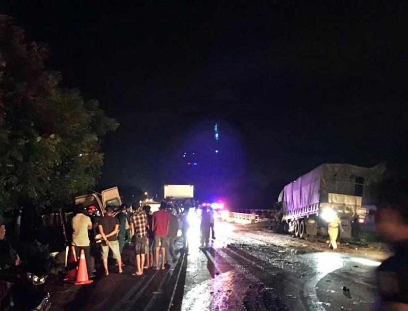 Bình Thuận: 8 người chết sau tai nạn giữa xe khách và ô tô tải - ảnh 2