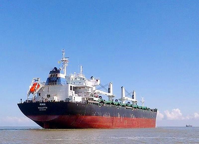 Không cho thủy thủ đoàn 23 người tàu MV Rinia lên bờ - ảnh 1