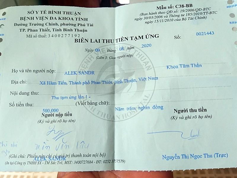 Bình Thuận: 1 người Nga trầm cảm đốt nhà người cưu mang mình - ảnh 2