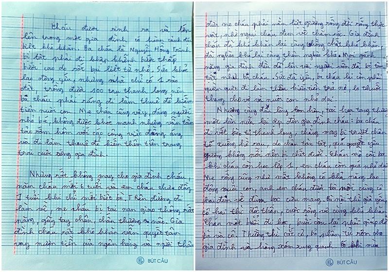 Lá thư đẫm nước mắt ngày khai giảng năm học mới - ảnh 4