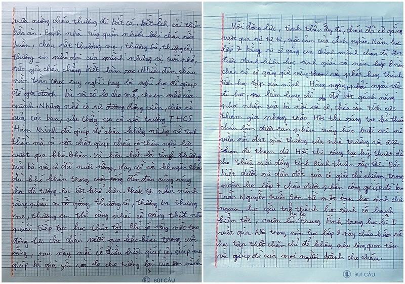 Lá thư đẫm nước mắt ngày khai giảng năm học mới - ảnh 5