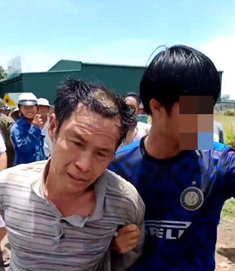 Hàng chục người vây bắt kẻ trộm xe ở Bình Thuận - ảnh 1