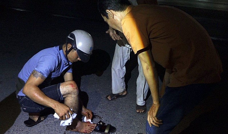 Người dân sống cạnh QL1 kêu cứu Bộ GTVT vì tai nạn - ảnh 4