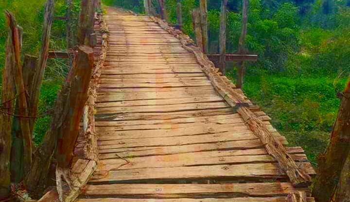 Khởi công xây cầu sông Đợt hơn 10,5 tỷ đồng - ảnh 1