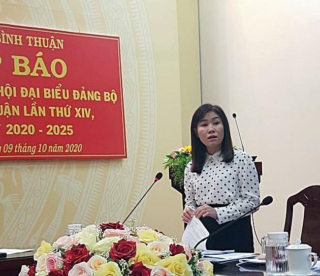 Bình Thuận thông tin về nhân sự, tố cáo... trước Đại hội - ảnh 3
