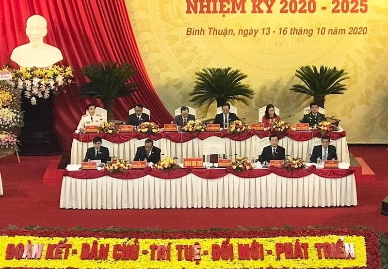 Khai mạc Đại hội đại biểu Đảng bộ tỉnh Bình Thuận lần thứ XIV  - ảnh 2