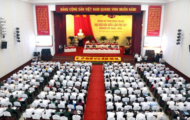 Khai mạc Đại hội đại biểu Đảng bộ tỉnh Bình Thuận lần thứ XIV  - ảnh 1