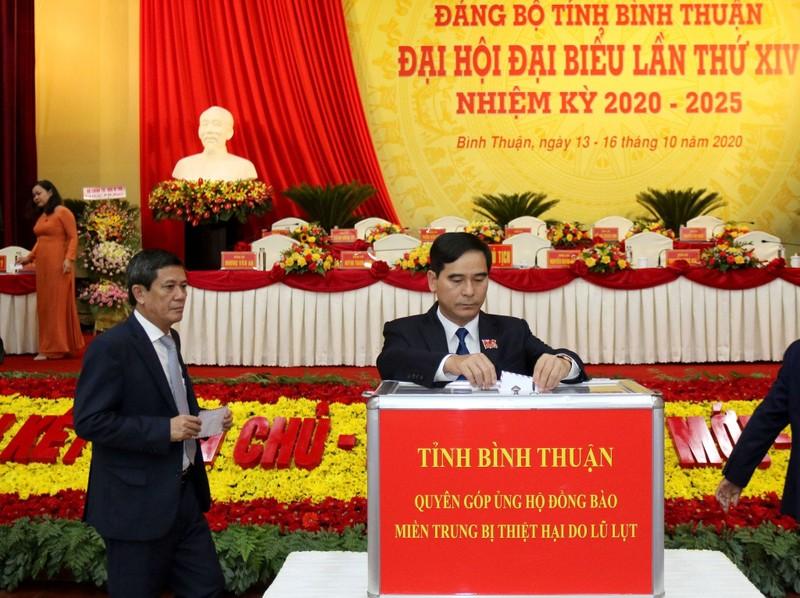 Công bố danh sách Ban chấp hành Đảng bộ Bình Thuận khóa XIV - ảnh 1