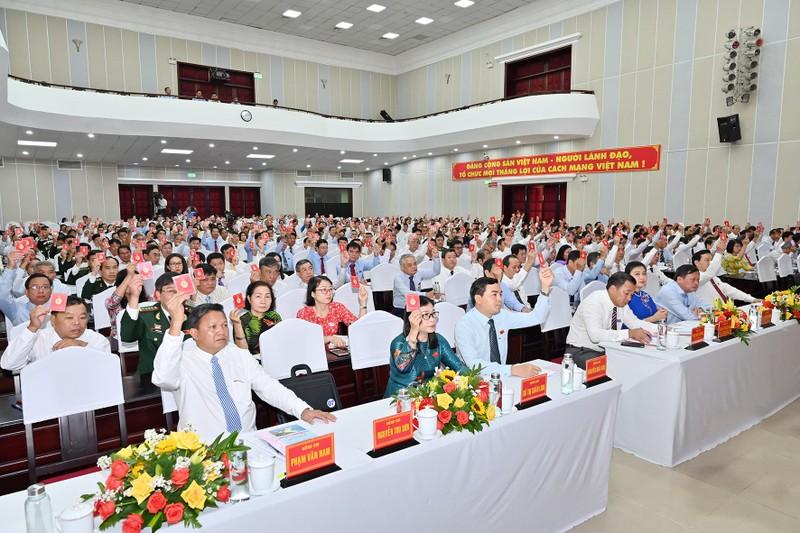 Bình Thuận: Hôm nay, bầu Ban chấp hành Đảng bộ khóa mới - ảnh 3