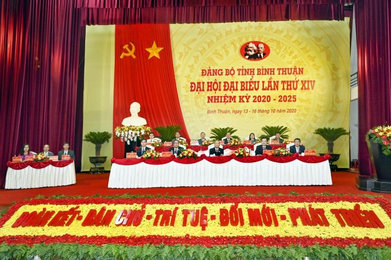 Bình Thuận: Hôm nay, bầu Ban chấp hành Đảng bộ khóa mới - ảnh 2