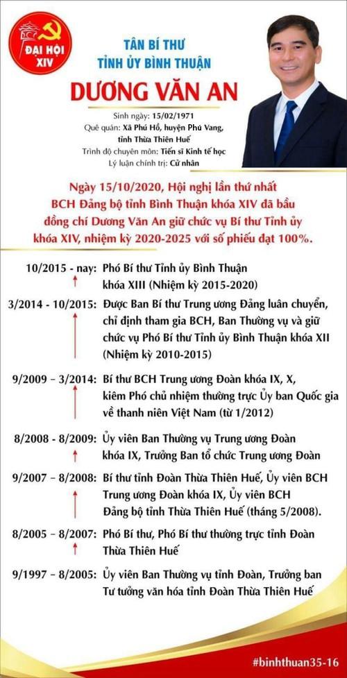 Tiến sĩ kinh tế đắc cử Bí thư Tỉnh ủy Bình Thuận - ảnh 1