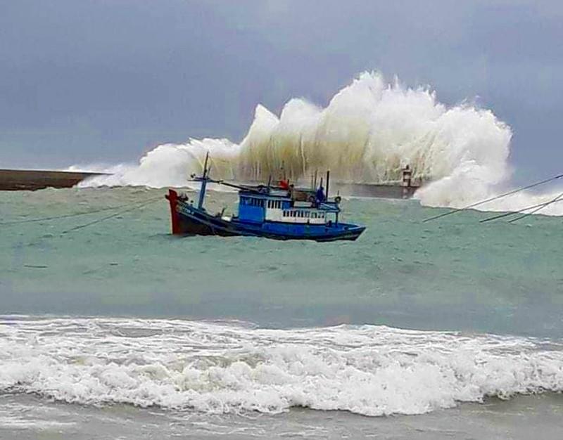 Bình Thuận triển khai ứng phó khẩn cấp bão số 9 - ảnh 2