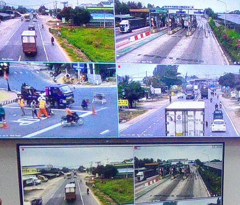 Có bao nhiêu tuyến đường gắn camera giám sát trên QL1A? - ảnh 2