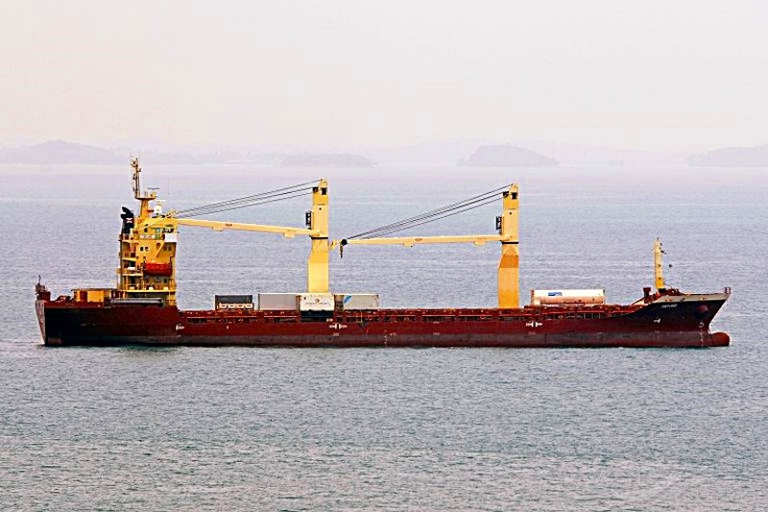 Bình Thuận: Tàu container tông chìm tàu cá có 8 thuyền viên - ảnh 1