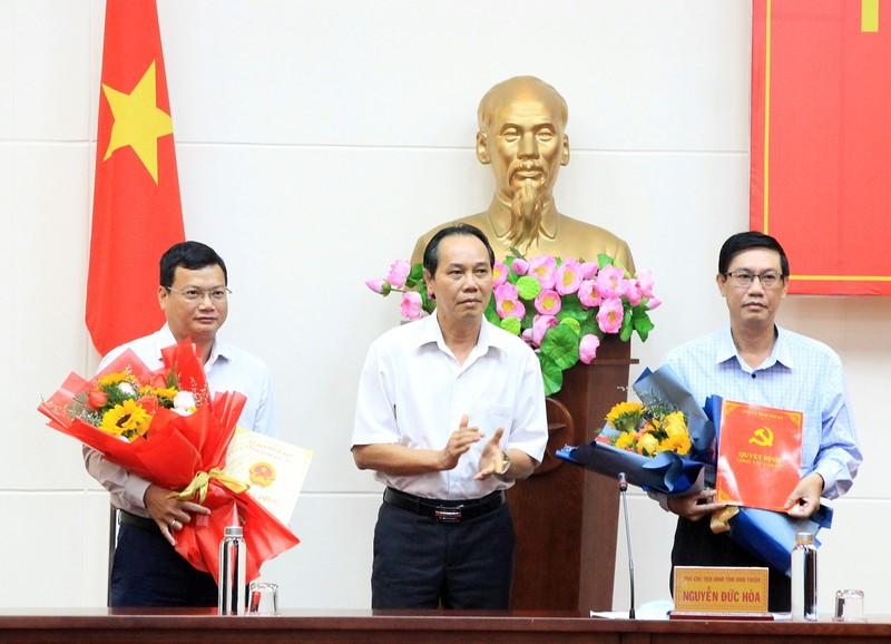 Giám đốc Sở Xây dựng Bình Thuận làm Bí thư huyện Bắc Bình - ảnh 1