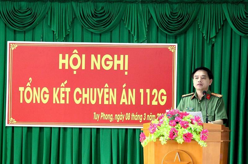 3 Đại tá trong Ban Giám đốc tham gia 1 chuyên án ở Bình Thuận - ảnh 1