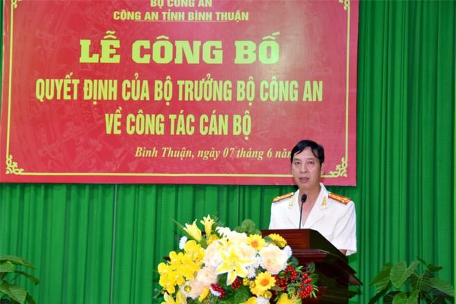 Trưởng Công an cửa khẩu Tân Sơn Nhất làm Phó Giám đốc Công an Bình Thuận - ảnh 1