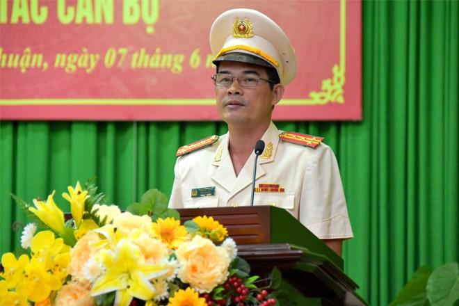 Trưởng Công an cửa khẩu Tân Sơn Nhất làm Phó Giám đốc Công an Bình Thuận - ảnh 2
