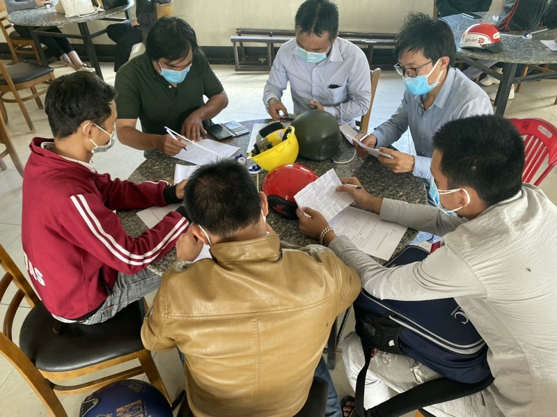 Nhóm thanh niên 2 lần 'thông chốt' vào Bình Thuận nhưng bất thành - ảnh 1