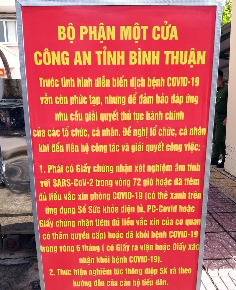 Từ 15-10, Bình Thuận gửi thông báo vi phạm mà camera trên QL1A ghi nhận - ảnh 1
