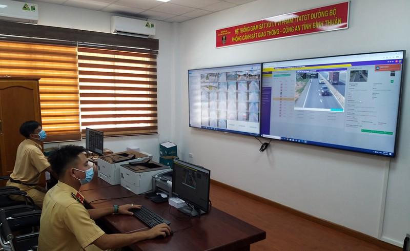 Từ 15-10, Bình Thuận gửi thông báo vi phạm mà camera trên QL1A ghi nhận - ảnh 2