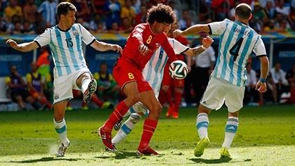 """Argentina 1–0 Bỉ: Argentina """"tái ngộ"""" bán kết World Cup sau 24 năm - ảnh 2"""