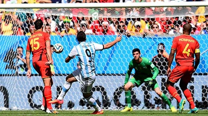 """Argentina 1–0 Bỉ: Argentina """"tái ngộ"""" bán kết World Cup sau 24 năm - ảnh 1"""