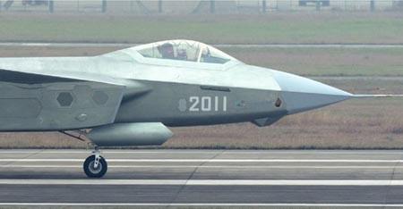 Máy bay chiến đấu J-20 của Trung Quốc.