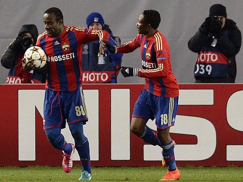 CSKA Moscow làm nên cú lội ngược dòng đầy ấn tượng