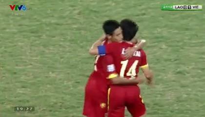 Việt Nam 3-0 Lào: Mở toang cửa vào bán kết - ảnh 8