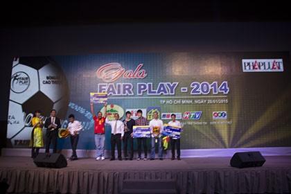 U19 Việt Nam đăng quang giải Fair Play 2014 - ảnh 1