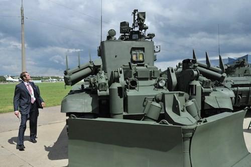 Nga phát triển xe thiết giáp công binh thế hệ mới - ảnh 2