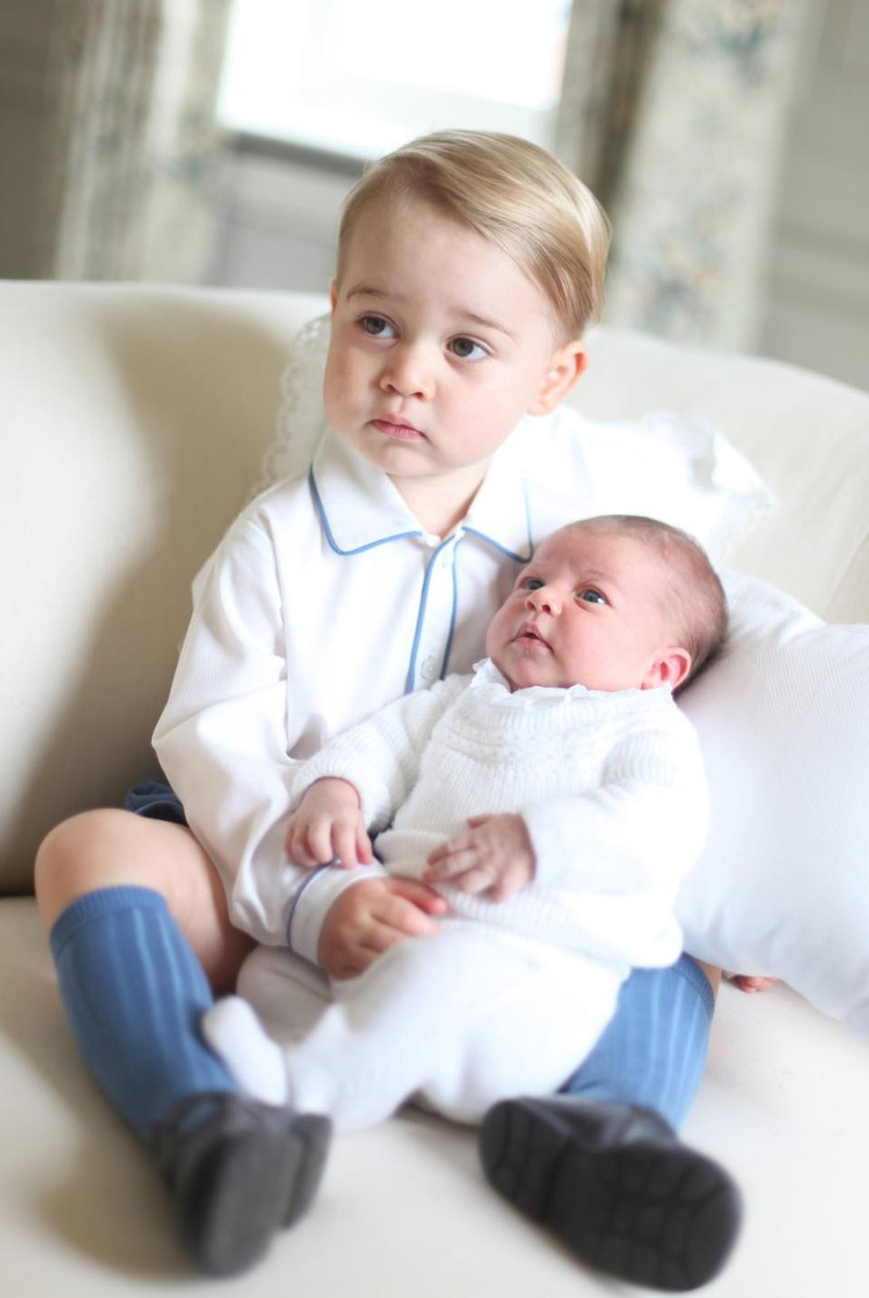 Hoàng gia Anh, Kate Middleton, Charlotte, George