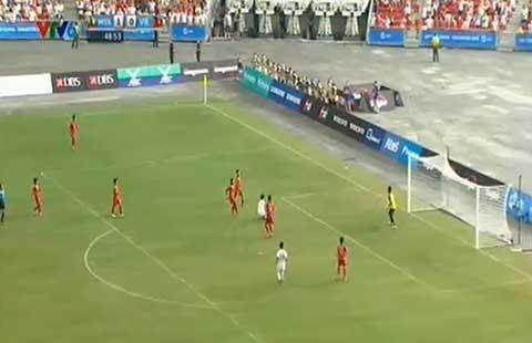 U23 Việt Nam - U23 Myanmar (1-2): U-23 Việt Nam lại lỡ hẹn - ảnh 3