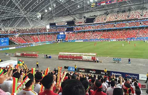 U23 Việt Nam - U23 Myanmar (1-2): U-23 Việt Nam lại lỡ hẹn - ảnh 10