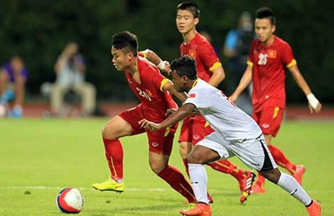 U23 Việt Nam - U23 Myanmar (1-2): U-23 Việt Nam lại lỡ hẹn - ảnh 14