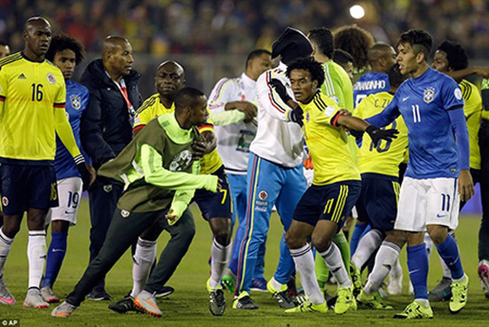 Neymar 'nổi điên', trận Brazil - Colombia kết thúc trong bạo lực - ảnh 2