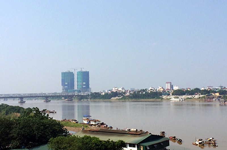 Phê duyệt nghiên cứu dự án siêu đô thị hai bên bờ sông Hồng - ảnh 1