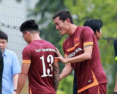 Chùm ảnh cầu thủ Việt Nam, Man City tập luyện cho trận đấu tối nay - ảnh 5