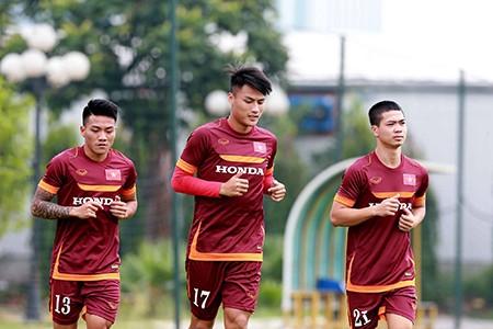 Chùm ảnh cầu thủ Việt Nam, Man City tập luyện cho trận đấu tối nay - ảnh 8