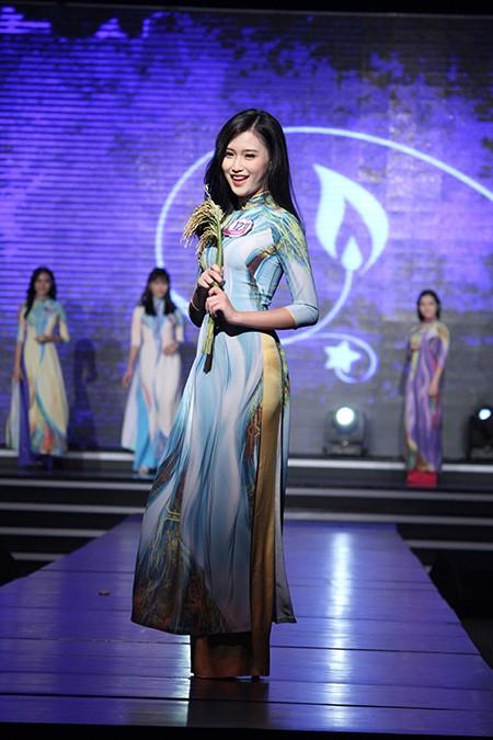 'Nữ sinh phong cách' Trần Bảo Như dịu dàng trong tà áo dài - ảnh 11