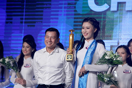 'Nữ sinh phong cách' Trần Bảo Như dịu dàng trong tà áo dài - ảnh 12
