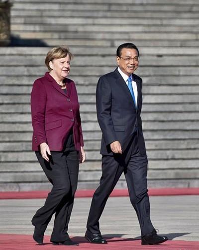 Thủ tướng Đức đến Bắc Kinh - ảnh 1