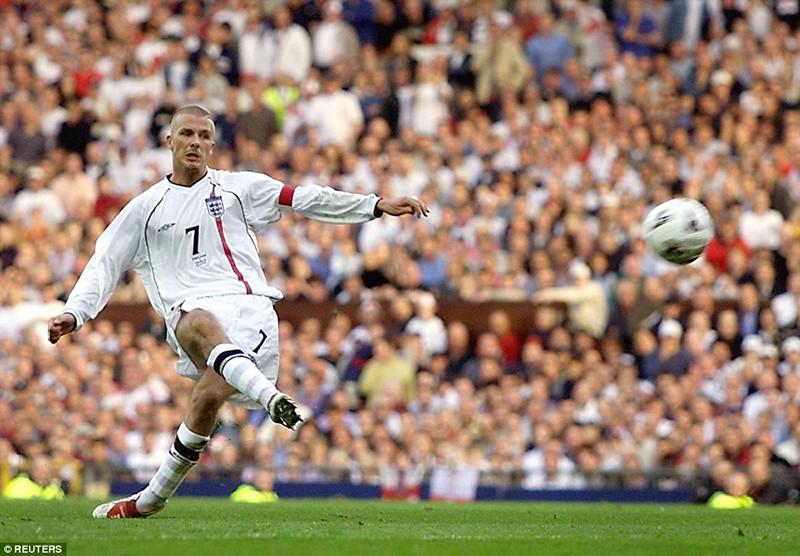 15 năm trước,Beckham đã tạo nên khoảnh khắc bùng nổ này - ảnh 2