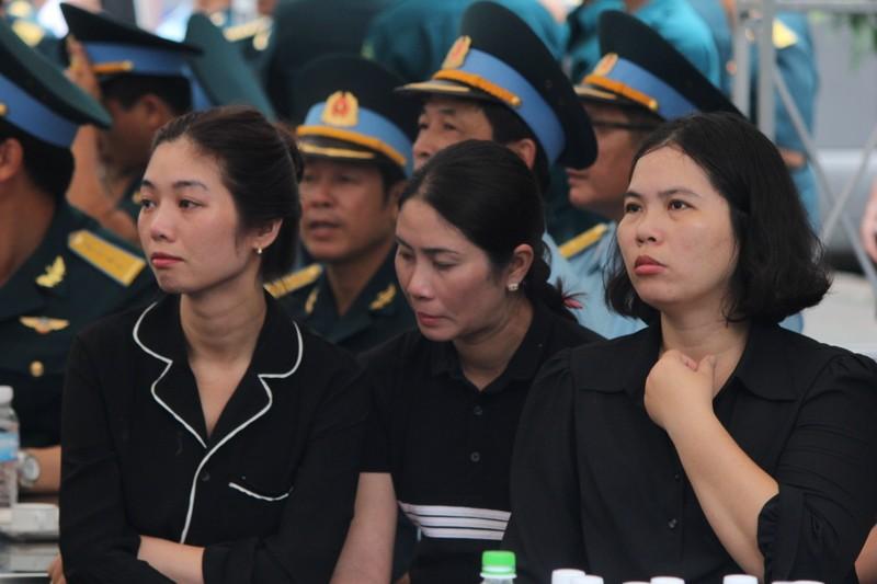 Lễ truy điệu 3 phi công hi sinh khi làm nhiệm vụ - ảnh 44